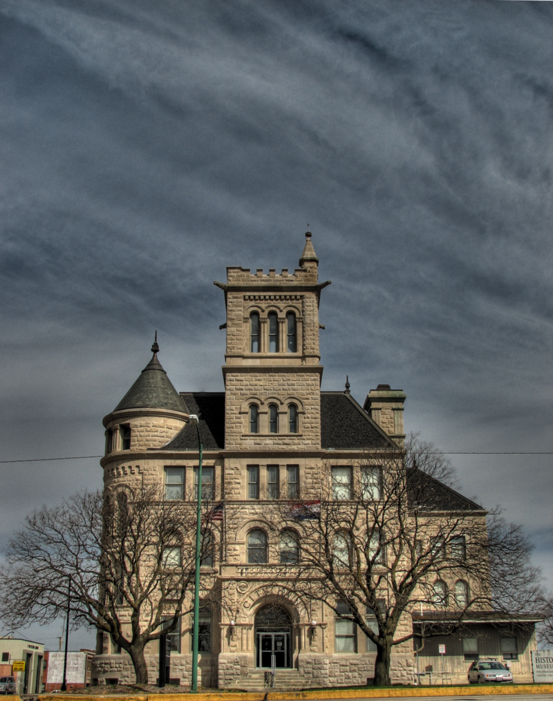 The former City Hall building was originally a federal customshouse and post office. Today, it is the headquarters of the city fire department.
