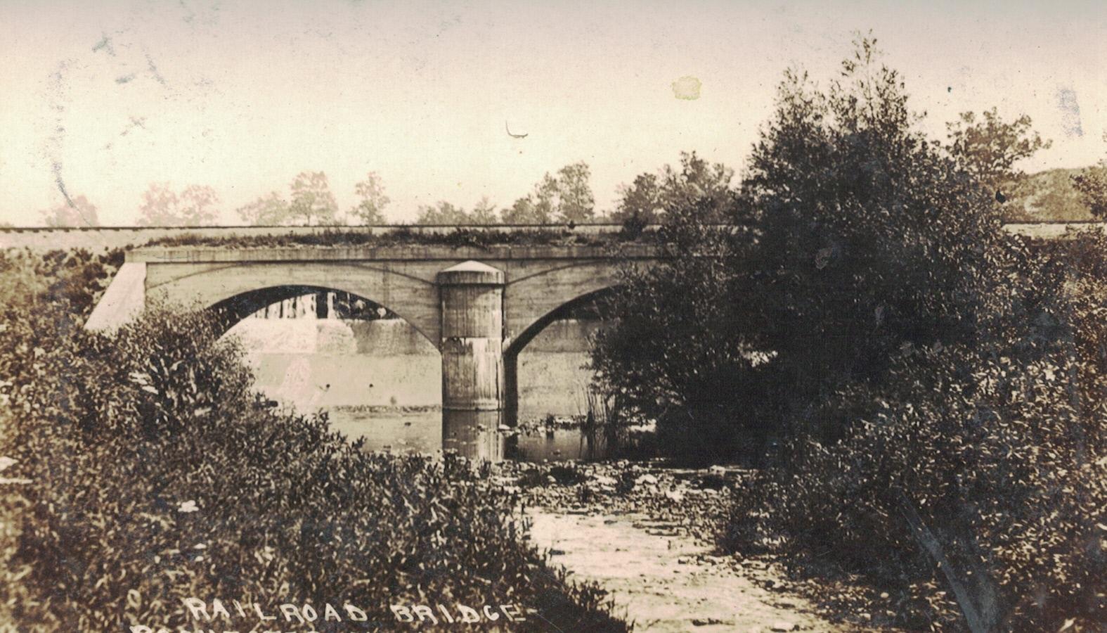 Michigan Central Railroad Bridge, ca. 1910