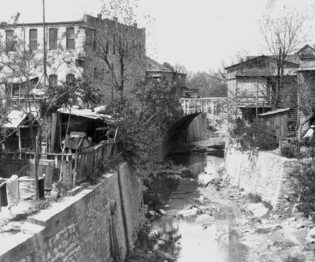 Waller Creek Flood Aftermath 1915