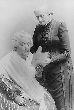 Susan B. Anthony and Cady Stanton