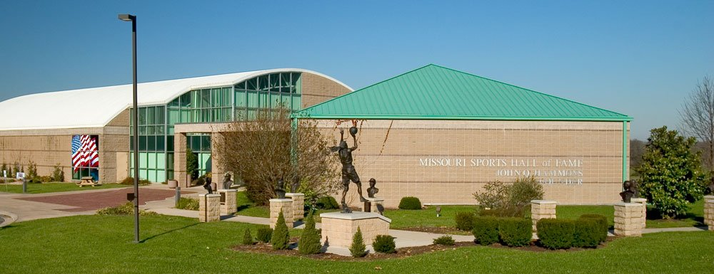 The Missouri Sports Hall of Fame opened in 1994 and features numerous sports memorabilia on display as well as interactive activities.