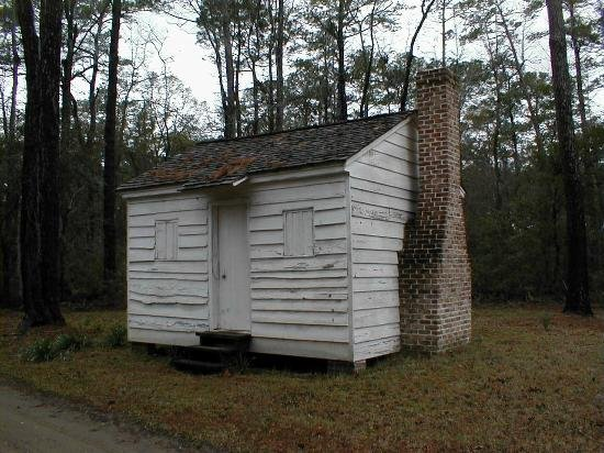 This former slave cabin is located in Friendfield Village.