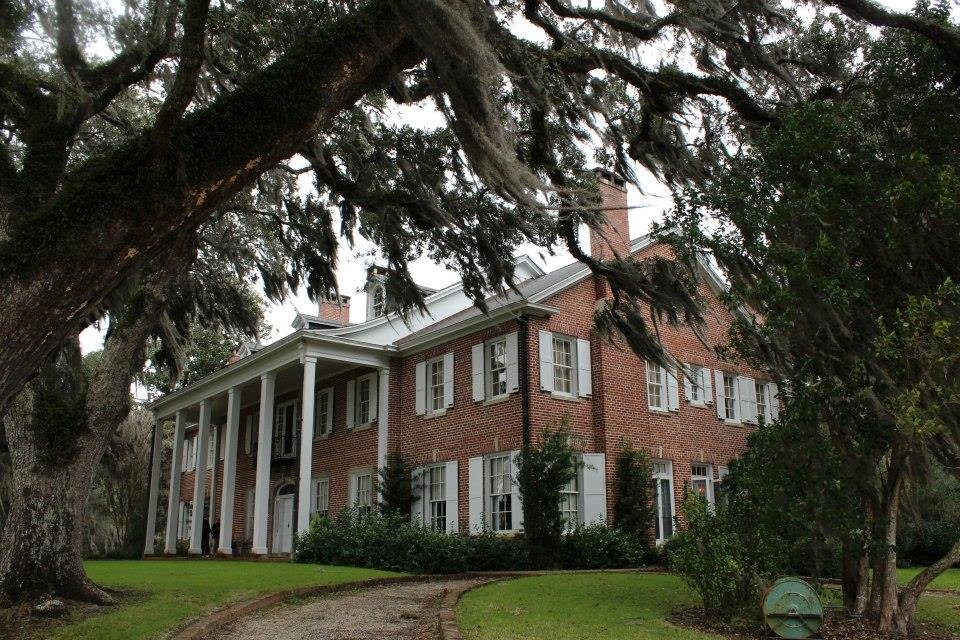 The main plantation house is the replica of the house Bernard M. Baruch lived in with his family.