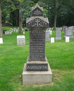After his death on December 21, 1890, Dr. Augusta became the first African American to be layed to rest at Arlington National Cemetery.