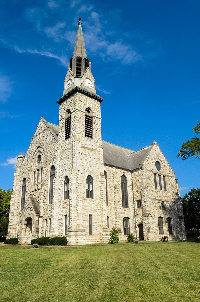 Stone Chapel was first built in 1880 and rebuilt in 1892 after the first structure was destroyed in a fire.