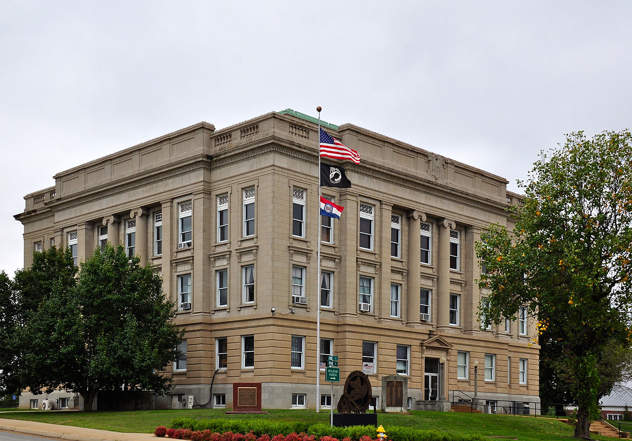 Butler County Courthouse was built in 1928.