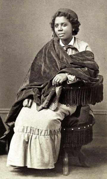 Edmonia Lewis portrait 