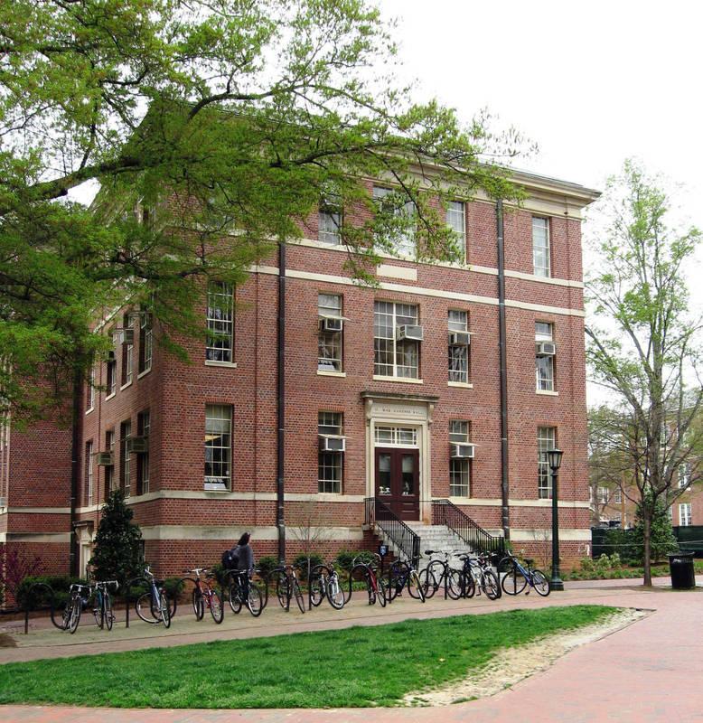Gardner Hall at the University of North Carolina