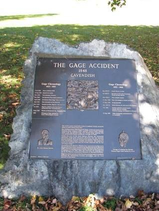 This is a plague in remembrance of the Gage Accident.