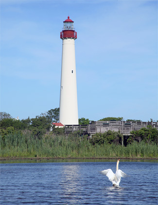 This photo was taken in 2006 of the lighthouse.