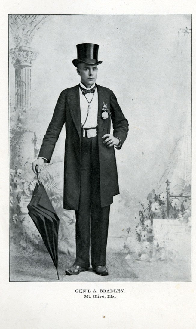 Bradley, 1897, after the great strike. He loved this image of himself as the dapper young man of substance. It suggested that miners who dug the coal that fueled the nation deserved the finer things in life.