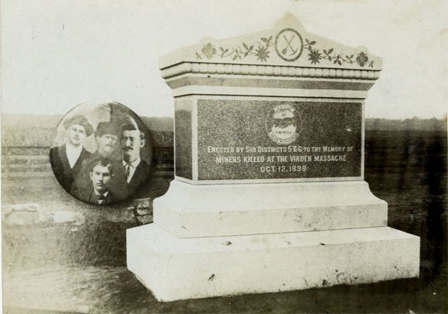 Mother Jones asked to be buried next to the Virden martyrs who had sacrificed their lives for the union cause.  Honoring the martyrs started the tradition of celebrating the role of the rank-and-file worker in changing history.