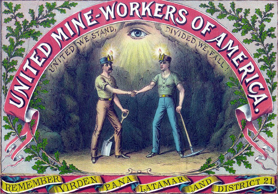 The determination of the Mt. Olive local to lionize and commemorate the miners who had given their lives for the union was a first in U.S. history, in that it emphasized the ordinary miner and rank-and-file role in changing the course of history.