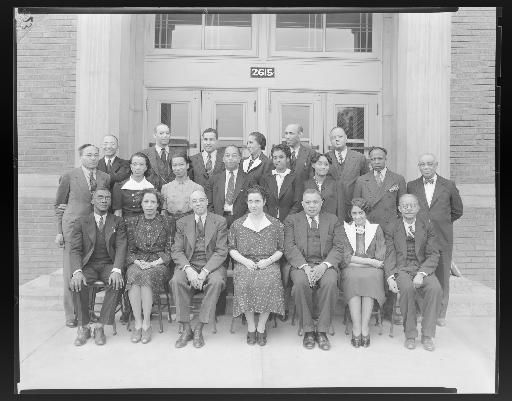 Faculty at Stowe Teachers College, 1940s