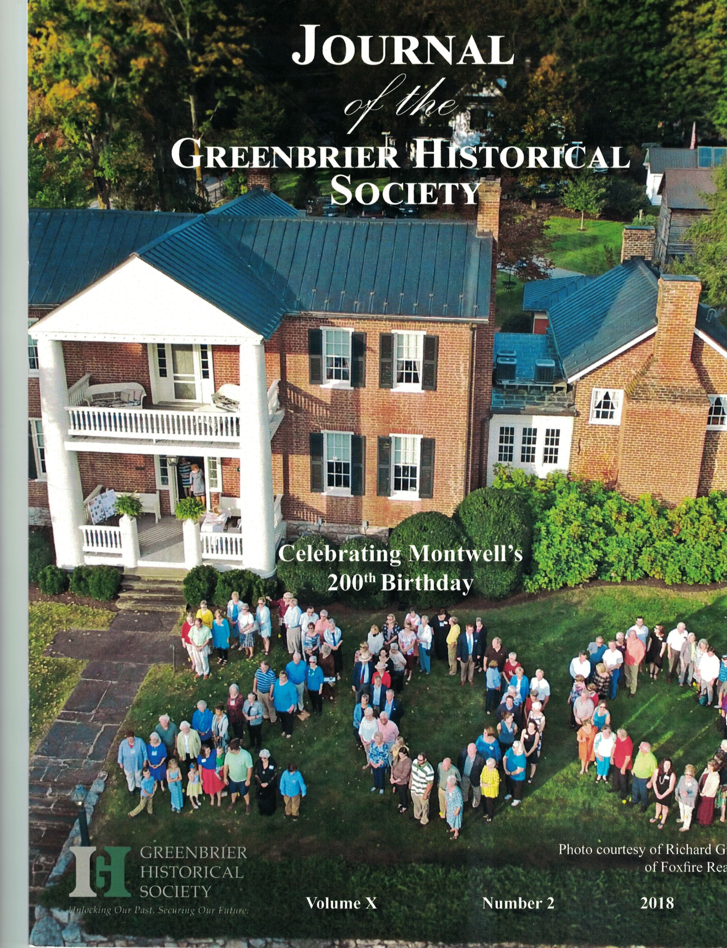 To celebrate Montwell's 200th anniversary, Mary and Paul Lindquist hosted the annual meeting of the Greenbrier Historical Society on October 4, 2018.