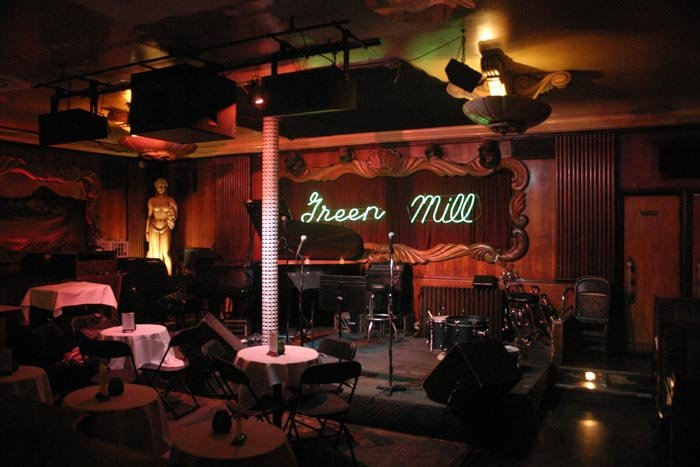 Green Mill updated interior
