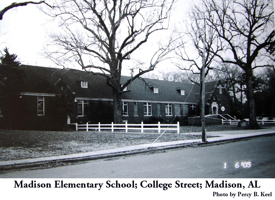 Madison Elementary School B&W by Keel