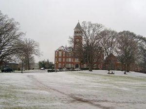 Bowman Field after ice storm in 2004