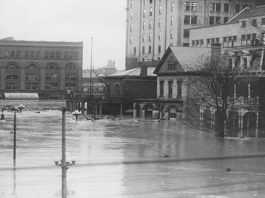 The Great Flood of 1913 (photo from Dayton Daily News)