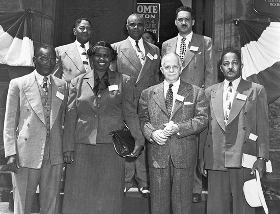 Juanita Craft and NAACP leaders