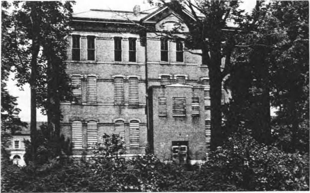 The building that held Unit III in September 1943.