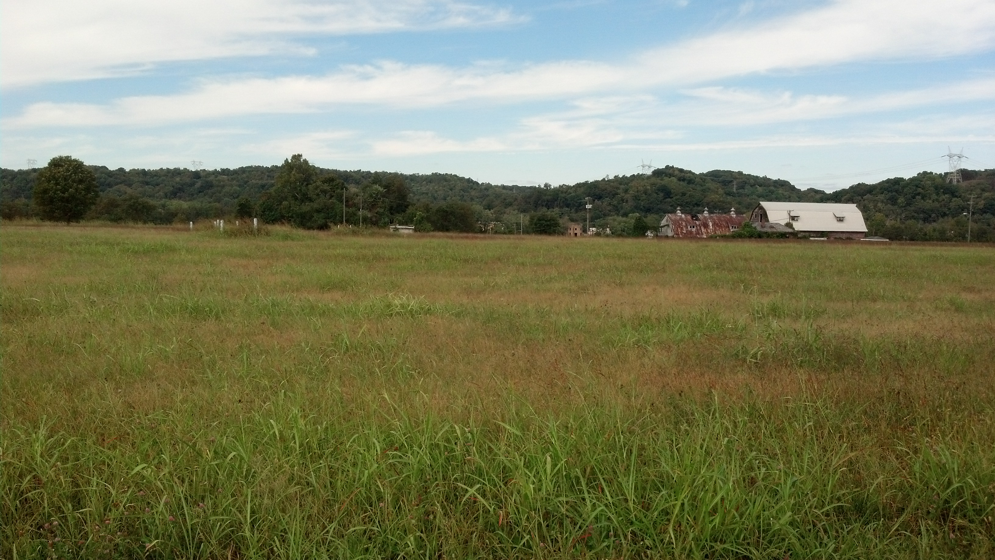 From Ohio River Road toward former Lakin Industrial School for Colored Boys