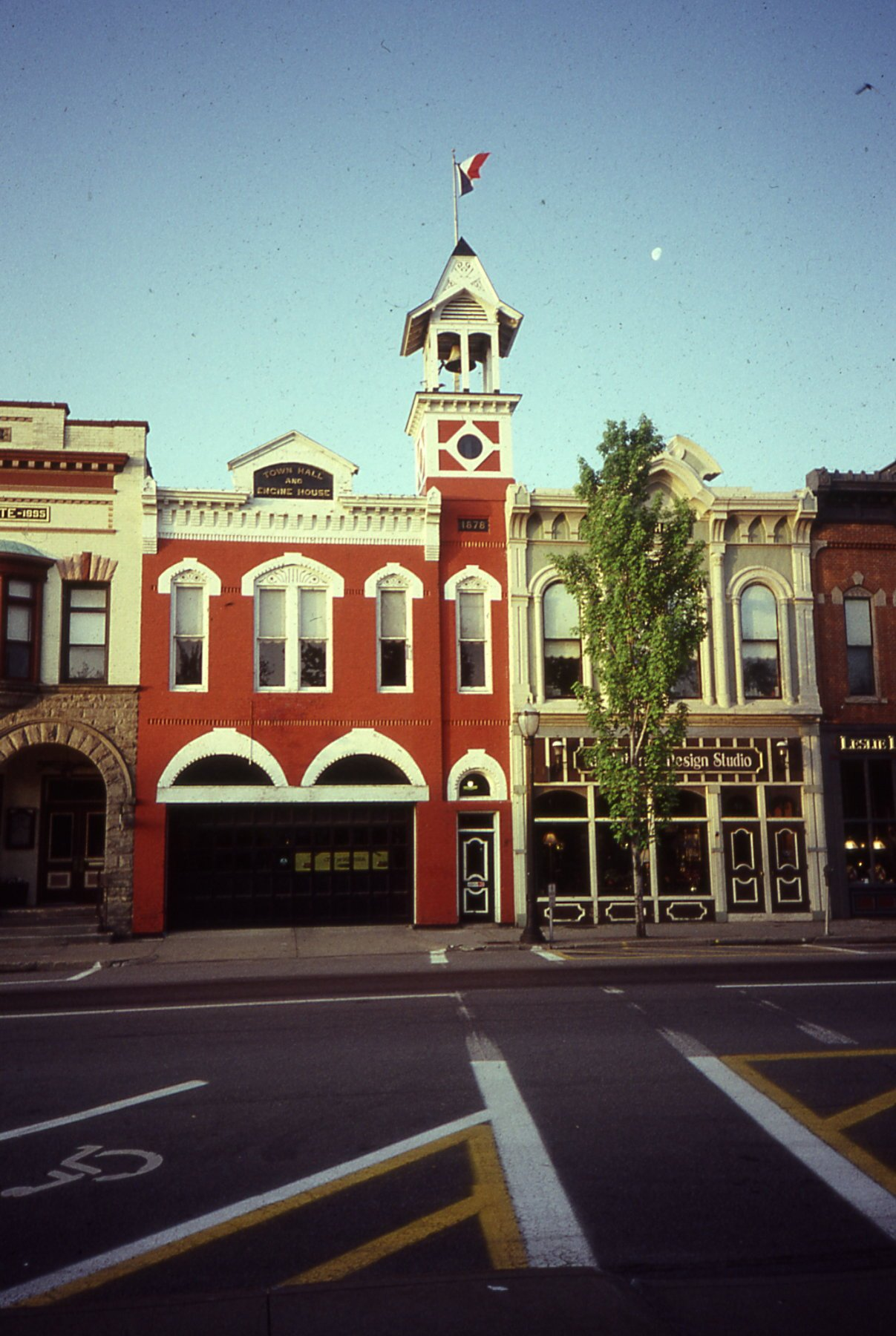 Medina Fire station restored to its original beauty