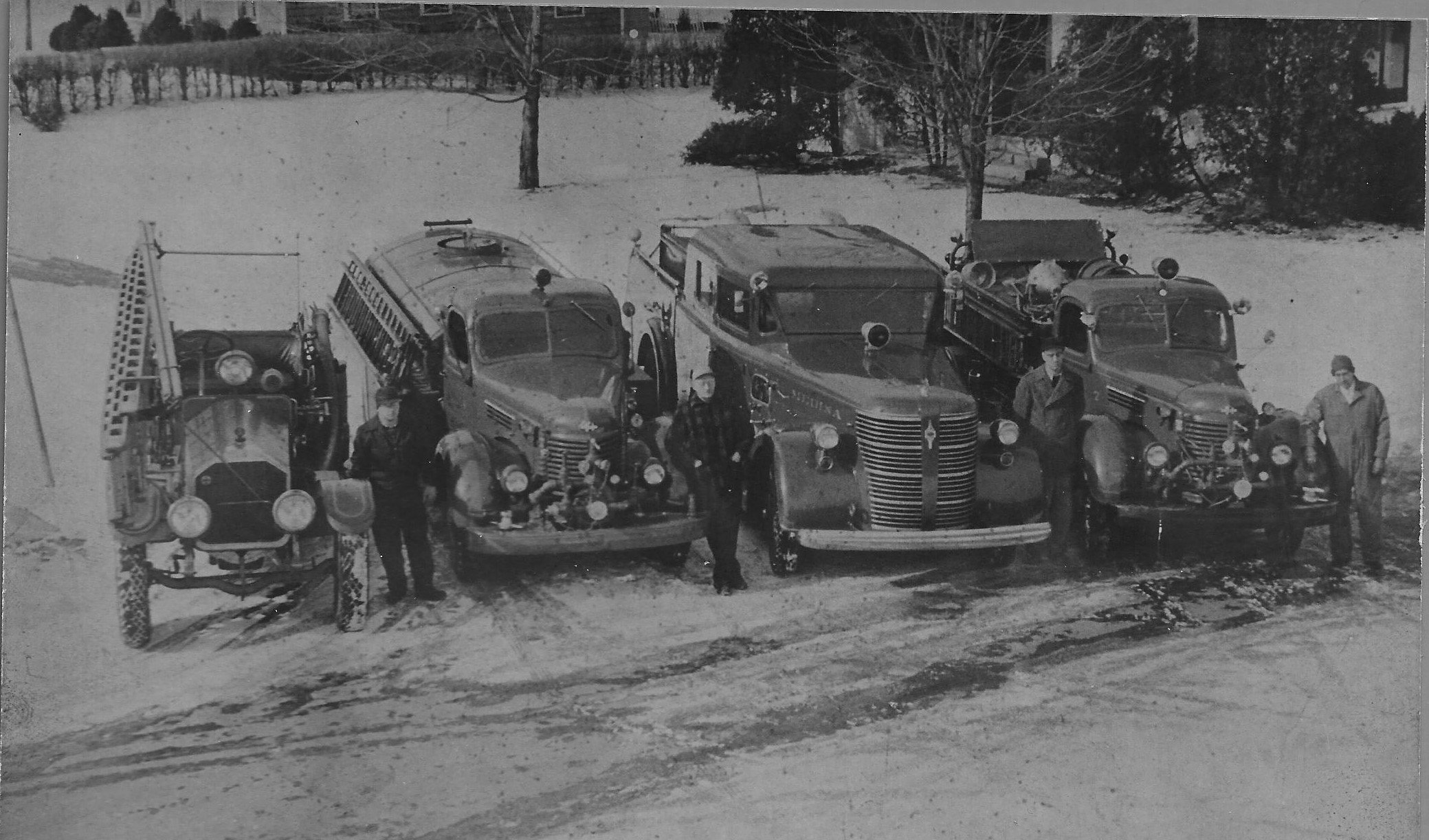 1940s Medina Fire Engines