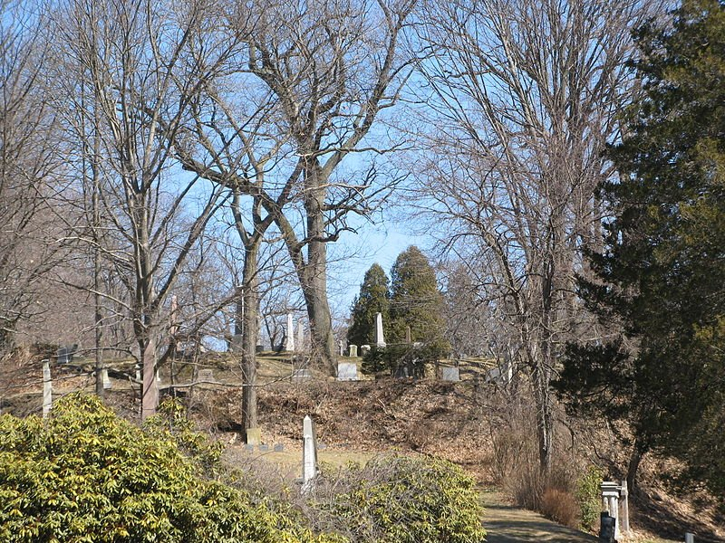 Springfield Cemetery was established in 1841.
