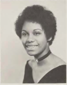 Yearbook photo of Madeith Malone as a senior from 1972 
