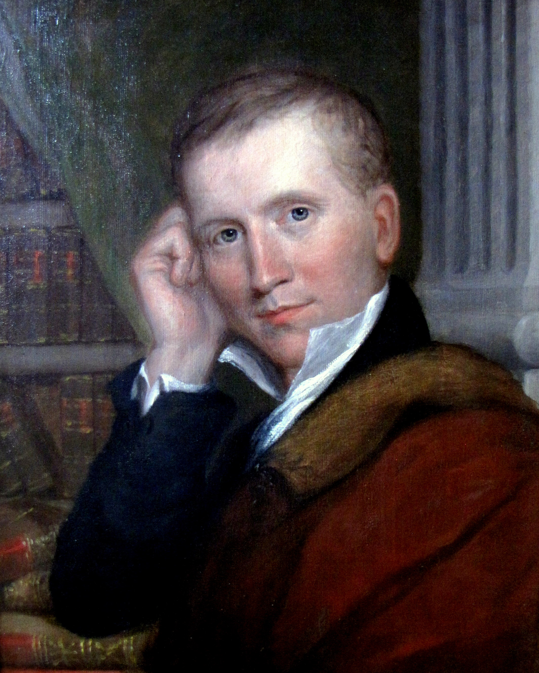 Portrait of Hamilton Eliot Perkins as a young man.