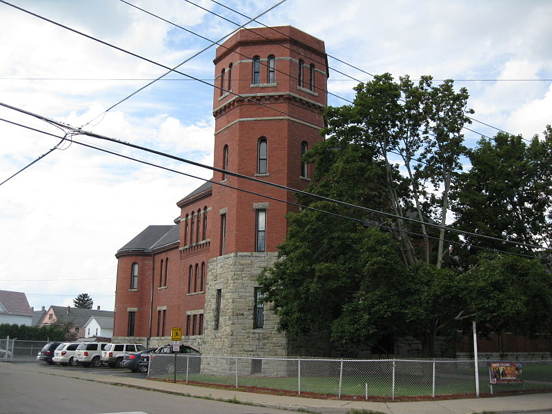 Hornell Armory was erected in 1896 and has served as the home of various units of the National Guard.