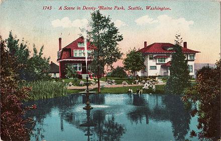 Denny Blaine Park in 1912