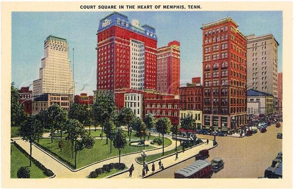 Court Square circa 1935