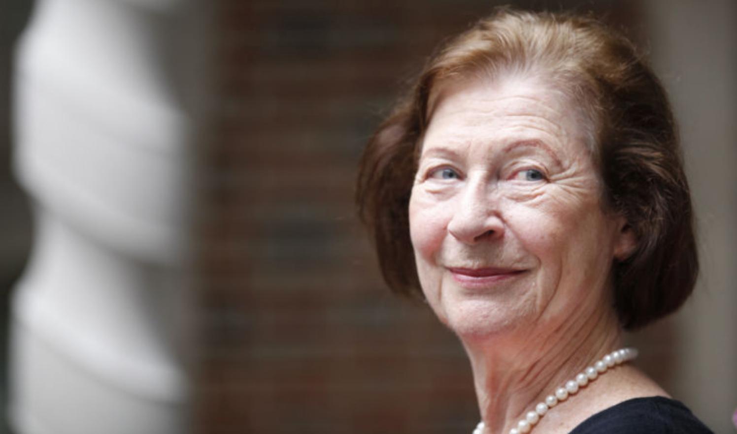 Dr. Gabara at her retirement celebration in 2013.