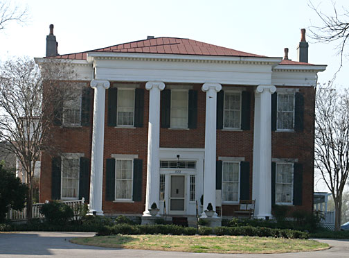 The Hunt Phelan House was originally built in 1832 and later expanded in 1855. Generals Polk and Grant used the house as their respective headquarters during the Civil War.