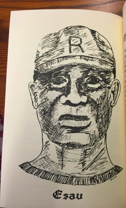 Illustration of Esau Brooks from 1957. (Source: Race & Racism Project)