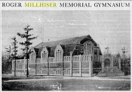 Roger Millhiser Memorial Gymnasium back in 1922 after renovation. (Source: The Collegian)