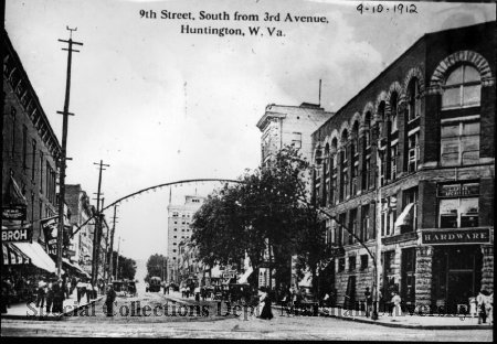9th Street, South from 3rd Avenue, 1912