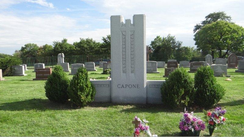 Gravesite of Al Capone