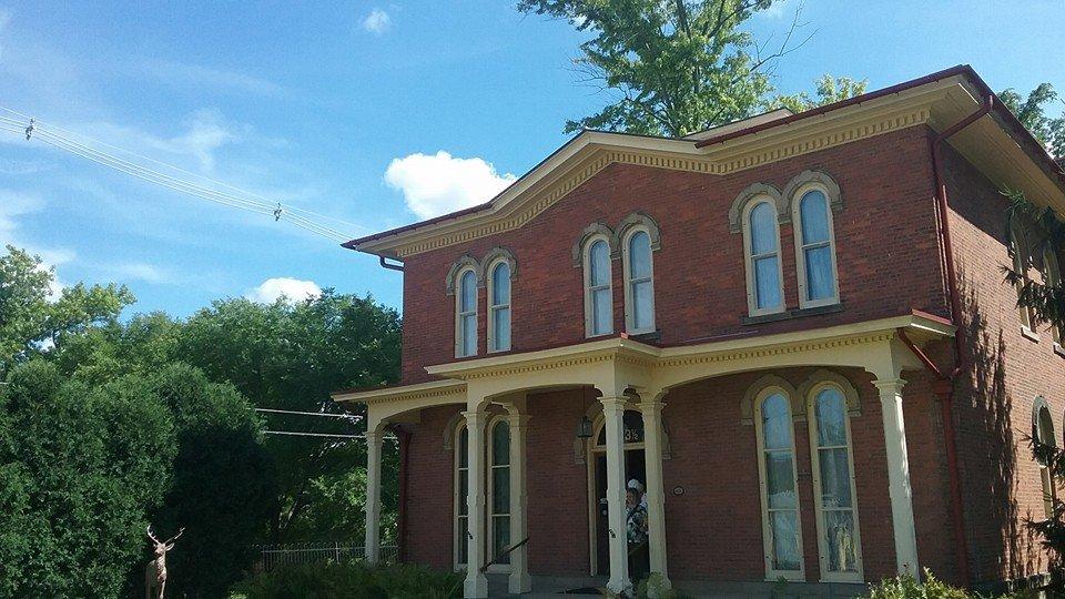 The Monroe House.