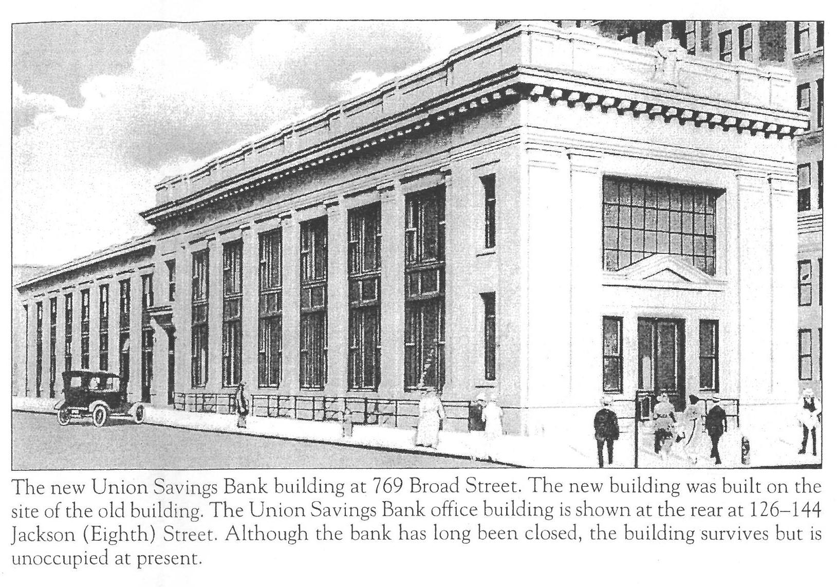 Union Savings Bank c.1917