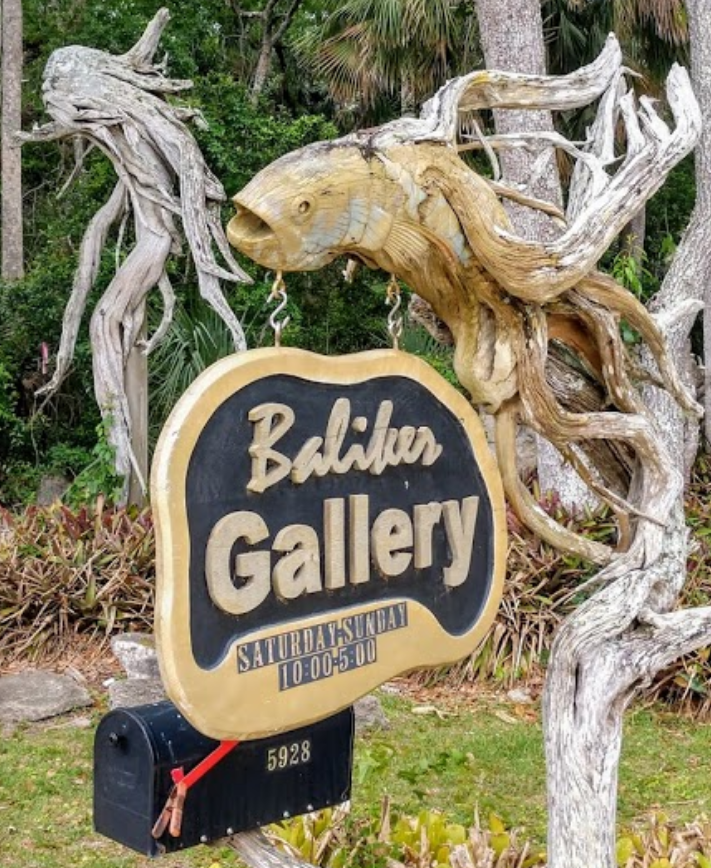 Baliker Gallery signage at the entrance to the property. Credit: Free2Be Me, Google Images
