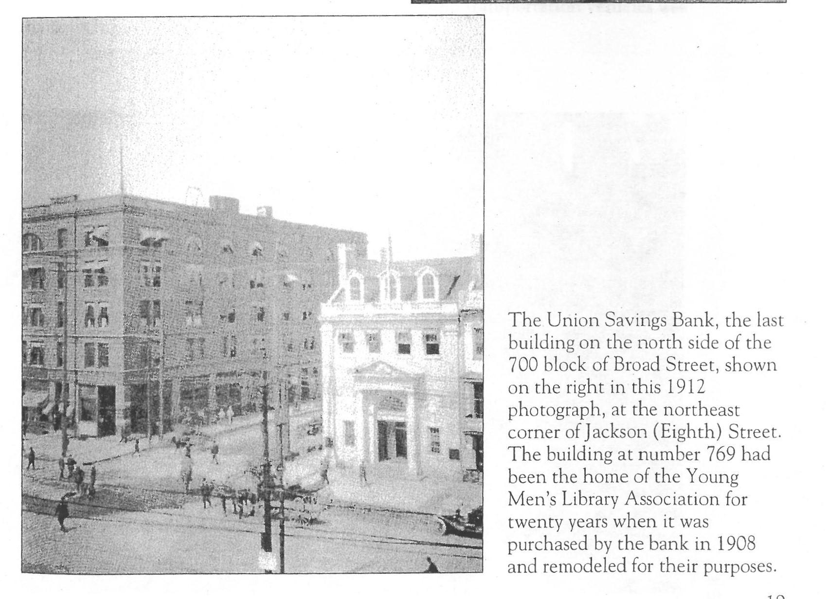Union Savings Bank c. 1912