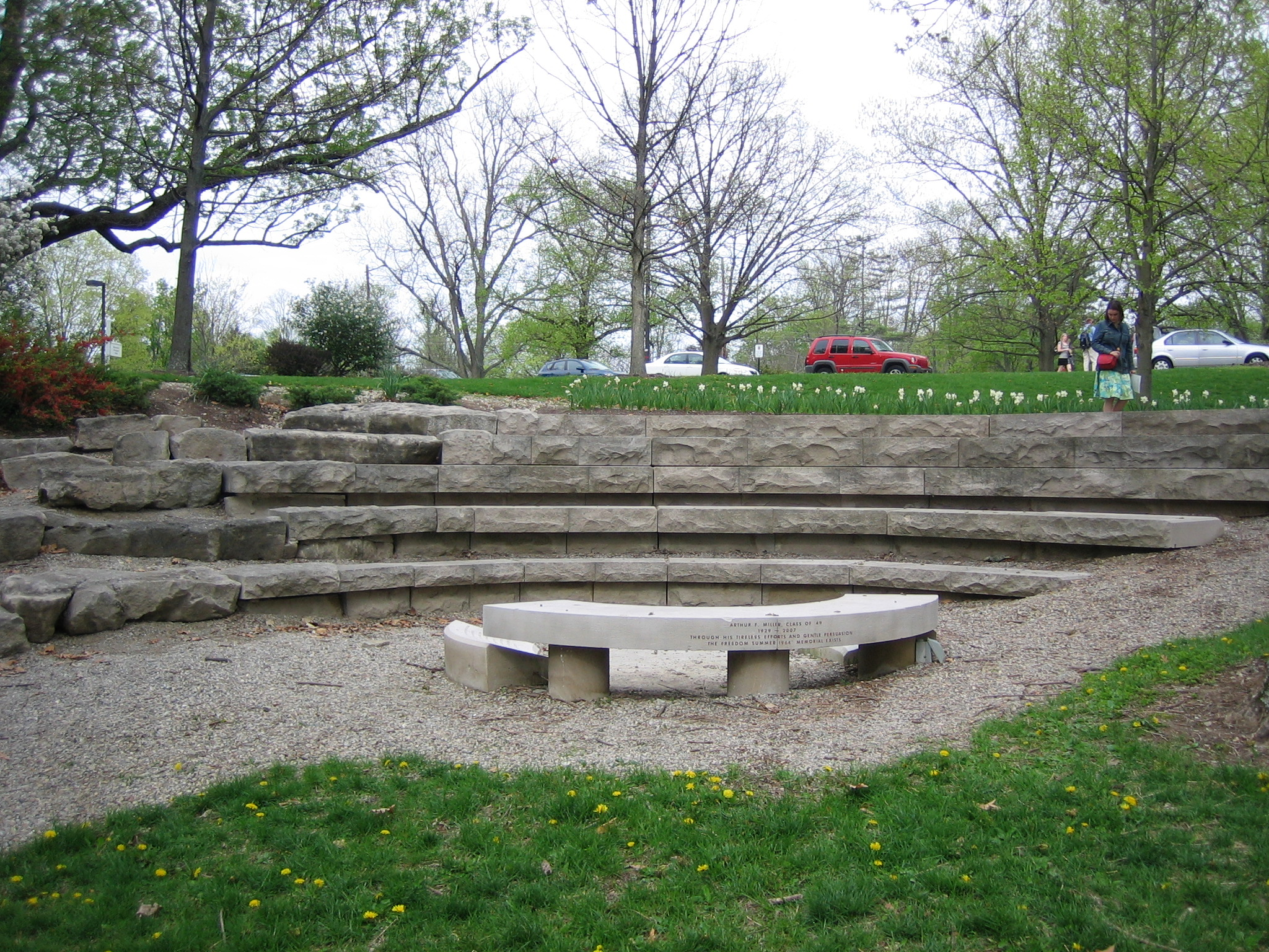 The Freedom Summer Memorial on the Miami University Campus