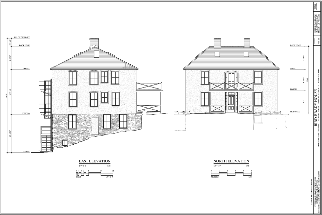 Building, Slope, House, Rectangle