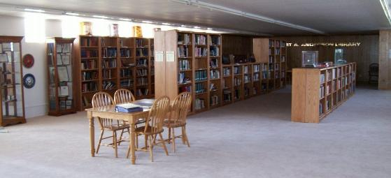 The Robert A. Anderson Library holds 8500 volumes related to World War II.