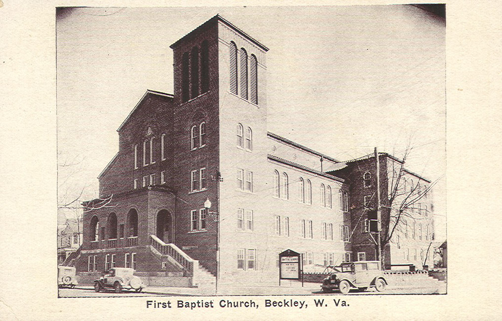 The current building shortly after its completion in 1929. Image obtained from the Florida Baptist Historical Society.