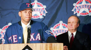 Alex Rodriguez introduction with the Rangers