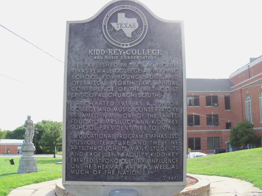 Kidd-Key College Historical Marker